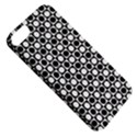 Modern Dots In Squares Mosaic Black White Apple iPhone 5 Classic Hardshell Case View5