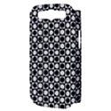 Modern Dots In Squares Mosaic Black White Samsung Galaxy S III Hardshell Case (PC+Silicone) View3