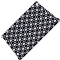 Modern Dots In Squares Mosaic Black White Apple iPad Mini Hardshell Case View4