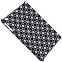 Modern Dots In Squares Mosaic Black White Apple iPad Mini Hardshell Case View5