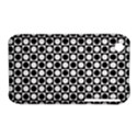 Modern Dots In Squares Mosaic Black White Apple iPhone 3G/3GS Hardshell Case (PC+Silicone) View1