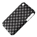 Modern Dots In Squares Mosaic Black White Apple iPhone 3G/3GS Hardshell Case (PC+Silicone) View4