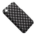 Modern Dots In Squares Mosaic Black White Apple iPhone 3G/3GS Hardshell Case (PC+Silicone) View5