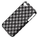 Modern Dots In Squares Mosaic Black White Apple iPhone 4/4S Hardshell Case (PC+Silicone) View4