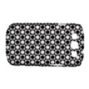 Modern Dots In Squares Mosaic Black White Samsung Galaxy S III Classic Hardshell Case (PC+Silicone) View1