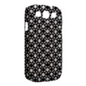 Modern Dots In Squares Mosaic Black White Samsung Galaxy S III Classic Hardshell Case (PC+Silicone) View2