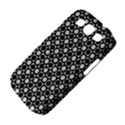 Modern Dots In Squares Mosaic Black White Samsung Galaxy S III Classic Hardshell Case (PC+Silicone) View4