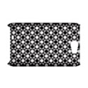 Modern Dots In Squares Mosaic Black White Samsung Galaxy Note 2 Hardshell Case (PC+Silicone) View1