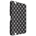 Modern Dots In Squares Mosaic Black White Kindle Fire HD 8.9  View2