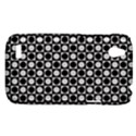 Modern Dots In Squares Mosaic Black White HTC Desire V (T328W) Hardshell Case View1
