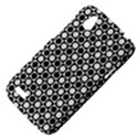 Modern Dots In Squares Mosaic Black White HTC Desire V (T328W) Hardshell Case View4
