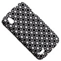 Modern Dots In Squares Mosaic Black White HTC Desire V (T328W) Hardshell Case View5