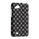 Modern Dots In Squares Mosaic Black White HTC Desire VC (T328D) Hardshell Case View2