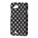 Modern Dots In Squares Mosaic Black White HTC Desire VC (T328D) Hardshell Case View3