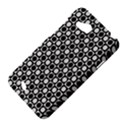 Modern Dots In Squares Mosaic Black White HTC Desire VC (T328D) Hardshell Case View4