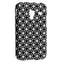 Modern Dots In Squares Mosaic Black White Samsung Galaxy Ace Plus S7500 Hardshell Case View2