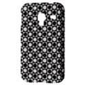 Modern Dots In Squares Mosaic Black White Samsung Galaxy Ace Plus S7500 Hardshell Case View3