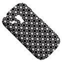 Modern Dots In Squares Mosaic Black White Samsung Galaxy S3 MINI I8190 Hardshell Case View5