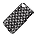 Modern Dots In Squares Mosaic Black White Apple iPhone 4/4S Hardshell Case with Stand View4