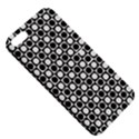 Modern Dots In Squares Mosaic Black White Apple iPhone 5 Hardshell Case with Stand View5