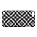 Modern Dots In Squares Mosaic Black White Apple iPod Touch 5 Hardshell Case with Stand View1