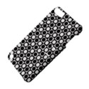 Modern Dots In Squares Mosaic Black White Apple iPod Touch 5 Hardshell Case with Stand View4