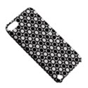 Modern Dots In Squares Mosaic Black White Apple iPod Touch 5 Hardshell Case with Stand View5