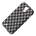 Modern Dots In Squares Mosaic Black White Samsung Galaxy S4 I9500/I9505 Hardshell Case View4