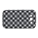 Modern Dots In Squares Mosaic Black White Samsung Galaxy Grand DUOS I9082 Hardshell Case View1