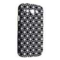 Modern Dots In Squares Mosaic Black White Samsung Galaxy Grand DUOS I9082 Hardshell Case View2