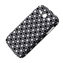 Modern Dots In Squares Mosaic Black White Samsung Galaxy Grand DUOS I9082 Hardshell Case View4