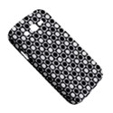 Modern Dots In Squares Mosaic Black White Samsung Galaxy Grand DUOS I9082 Hardshell Case View5