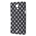 Modern Dots In Squares Mosaic Black White Sony Xperia T View3