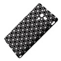Modern Dots In Squares Mosaic Black White Sony Xperia ZL (L35H) View4