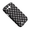 Modern Dots In Squares Mosaic Black White Samsung Galaxy Grand GT-I9128 Hardshell Case  View5