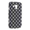 Modern Dots In Squares Mosaic Black White Samsung Galaxy Duos I8262 Hardshell Case  View2