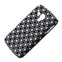 Modern Dots In Squares Mosaic Black White Samsung Galaxy Duos I8262 Hardshell Case  View4