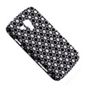 Modern Dots In Squares Mosaic Black White Samsung Galaxy Duos I8262 Hardshell Case  View5