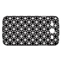 Modern Dots In Squares Mosaic Black White Samsung Galaxy Mega 5.8 I9152 Hardshell Case  View1
