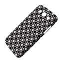Modern Dots In Squares Mosaic Black White Samsung Galaxy Mega 5.8 I9152 Hardshell Case  View4