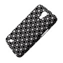 Modern Dots In Squares Mosaic Black White Samsung Galaxy Mega 6.3  I9200 Hardshell Case View4