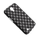 Modern Dots In Squares Mosaic Black White Samsung Galaxy Mega 6.3  I9200 Hardshell Case View5