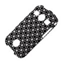 Modern Dots In Squares Mosaic Black White Samsung Galaxy S7710 Xcover 2 Hardshell Case View4