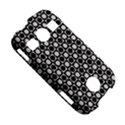 Modern Dots In Squares Mosaic Black White Samsung Galaxy S7710 Xcover 2 Hardshell Case View5