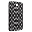 Modern Dots In Squares Mosaic Black White Samsung Galaxy Tab 3 (7 ) P3200 Hardshell Case  View2