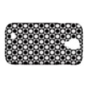 Modern Dots In Squares Mosaic Black White Samsung Galaxy S4 Classic Hardshell Case (PC+Silicone) View1