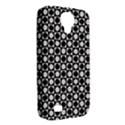 Modern Dots In Squares Mosaic Black White Samsung Galaxy S4 Classic Hardshell Case (PC+Silicone) View2