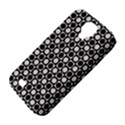 Modern Dots In Squares Mosaic Black White Samsung Galaxy S4 Classic Hardshell Case (PC+Silicone) View4