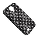Modern Dots In Squares Mosaic Black White Samsung Galaxy S4 Classic Hardshell Case (PC+Silicone) View5