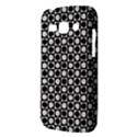 Modern Dots In Squares Mosaic Black White Samsung Galaxy Ace 3 S7272 Hardshell Case View3
